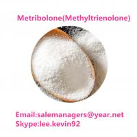 Metribolone / Methyltrienolone Raw Steroid Powders For Body Building Manufactures