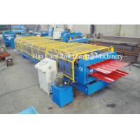 Forming Speed 8-12m/min Double Layer Roof Forming Machine Shaft Diameter 76mm Manufactures