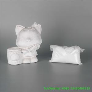 China Fireproof 90 High Whiteness Setting Time 22min Pure Gypsum Powder on sale