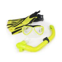 Anti Fog Face Mask Snorkel Set For Swimming Diving Silicone Strap Material Manufactures