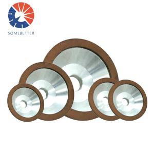 China Resin bond/metal bond diamond/CBN mini grinding wheels with CE&ISO on sale