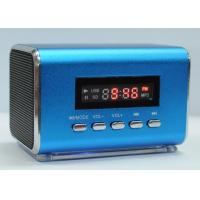 China Portalbe Mini Speaker Micro SD TF Card USB Disk with FM Radio on sale