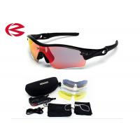 100% UVA UVB Cycling Outdoor Sports Glasses Bike Sunglasses TR90 5 Lens Manufactures