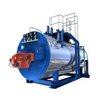 Horizontal Automatic 1 Ton Gas Fired Steam Boilers High Pressure For Fiber Manufactures
