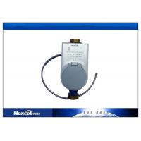 Remote Control Reading Prepaid Water Meters , GSM / SMS Wireless Water Flow Meter Manufactures
