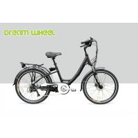 China 36 Volt 10.4Ah Electric City Bike 250W Gear Motor With Tektro Hydraulic Disc Brake on sale
