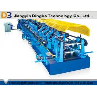 Buy cheap Z Purlin Roll Forming Machinery with Hydraulic Unit Ppower 11 KW from wholesalers