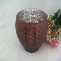 colored bowl candle holder of glass materials Manufactures