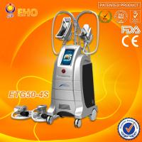 2014 hot 4 handles cryolipolysis fat freeze slimming beauty machine Manufactures