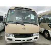 TOYOTA Used Coaster Bus With 16-30 Seats Diesel Engine & Gasoline Engine Manufactures