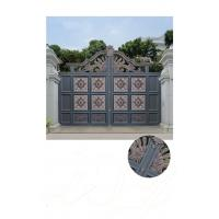 Quality Villa Aluminum Electric Garden Door Opening Type With Remote Control Motor Shaft 4.5m for sale