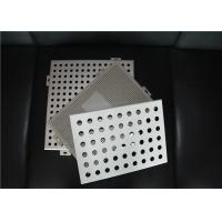 Perforated Metal Ceiling Tiles Perforated Aluminum Panels Square / Rectangle Manufactures