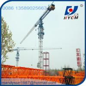 Internal Climbing 4t QTP 5010 Flat Top Tower Crane Manufactures