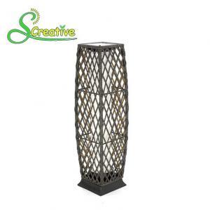 PE Rattan Wicker Outdoor Solar Lights LED Lamp For Landscape Lighting Decorative Manufactures