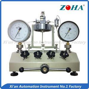 Stable Vacuum Gauge Calibration Equipment / Workable Vacuum Pressure Calibrator Manufactures