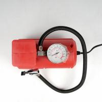 Red Vehicle Air Compressors Mini Air Pump Dc 12v 10ft Cord For Car  Bicycle Manufactures