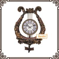 decorative wall clock with pendulum welcomed decorative wall clock 604M Manufactures