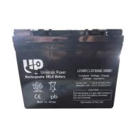 12 volt Sealed valve regulated lead acid batteries Maintenance Free for electric vehicle Manufactures