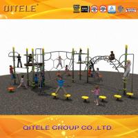 Quality Outdoor Play Equipment For Kids / Playground Climbing Equipment With Link Climber , Challenging Game for sale