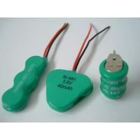 3.6V Rechargeable Button Nimh Battery Pack 40mAh Portable DVD Player Manufactures