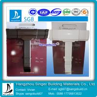 Quality pvc brown/white gutter and downspout from chinese factory for sale