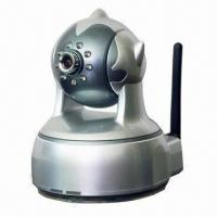 Wireless IP Camera with Pan-Tilt Function, Vertically of 120 Degrees, Horizontally of 360 Degrees  Manufactures