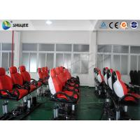 Quality 6 Dof Mobile Theater Chair , 4d Cinema Custom Motion Control System for sale