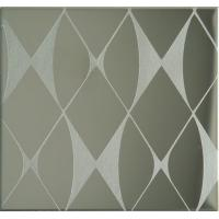 Etching Patterned Stainless Steel Sheet , Colored Stainless Steel Backsplash Panel Manufactures