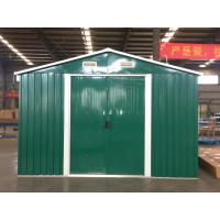 Windproof Steel Garden Sheds Long Term Durability Used As Industrial Storage Manufactures