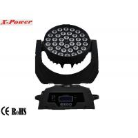 Professional 36 PCS 10 Watt 4 In 1 Led Moving Head Lights Zoom  LCD Display  X-13 Manufactures