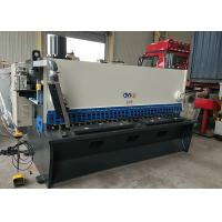 Guillotine Sheet Metal Shearing Machine Length 3200mm With Three Point Manufactures