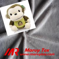 100% polyester microfiber super soft velboa fabric for soft toy Manufactures