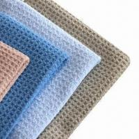 Microfiber Waffle Cloth, Good for Cleaning Kitchen Manufactures