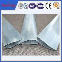 Aluminum extrusion blade supplier, shutter fin extrusion aluminium price factory Manufactures