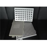 Perforated Interior Decoration Aluminum Perforated Ceiling Panels Fireproof Manufactures