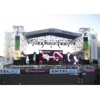 Vivid Picture Pitch 8mm LED Screen , LED TV Advertising Displays Long Lifespan Manufactures