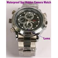 China Waterproof Wrist Watch Video Camera Recorder Spy Hidden Camera Private Detective Gadget on sale