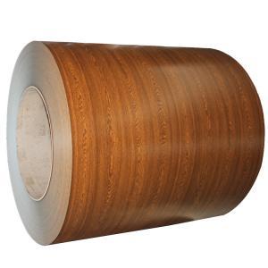 Wood Grain PPGI Coil Sheet / Prepainted Galvanized Steel Coil GB Standard Manufactures