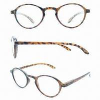Reading Glasses with Plastic Frame and Temple, Stylish Design Manufactures