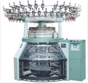 Electronic Computerized Jacquard Circular Knitting Machine Quick Switch 2 / 3 Ways Manufactures