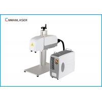 Buy cheap Carbon Steel CNC Fiber Marking Machine 3D Dynamic Auto Focus Large Size from wholesalers