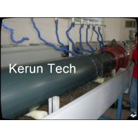 Water Gas Oil HDPE Pipe Extrusion Machine / Plastic Pipe Production Line Manufactures