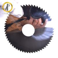 High Strength Solid Carbide Saw Blade / Slitting Saw Blades For Metal Working Manufactures