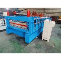 China Double layer roofing sheet roll forming machine for Corrugated style on sale