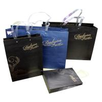 Gift Crafts Recycled Paper Bags With Handle , Paper Grocery Bags Manufactures