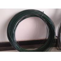 2.5MM * 25KG / Roll Pvc Coated Iron Wire Untreated Surface For Chain Link Fence Manufactures