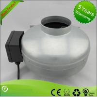 Low Noise Inline Circular Duct Fan / Centrifugal Duct Fan High Pressure Manufactures