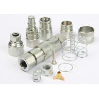ISO 16028 Flush Face Hydraulic Quick Couplers , LSQ-FFY Flat Face Quick Couplers Manufactures