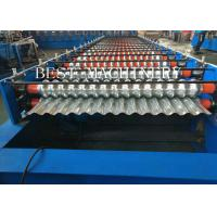 Metal Corrugated Roof Panel Sheeting Roll Forming Machine 2 Years Warranty Manufactures