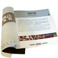 China Fashionable Brochure Color Booklet Printing with Hot Stamping on the Cover for business on sale